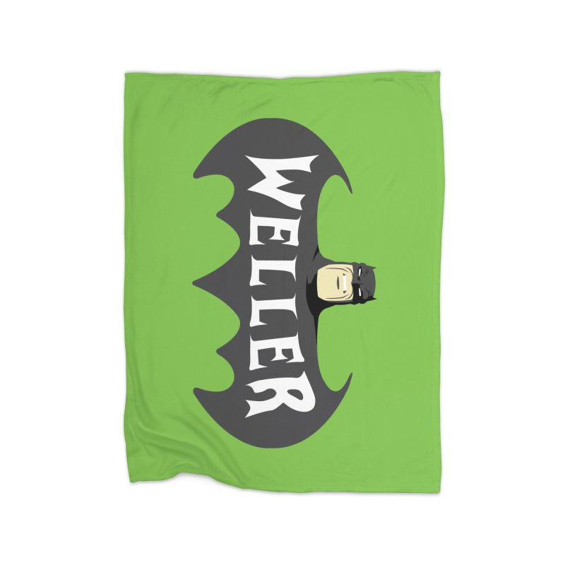 WELLER Home Fleece Blanket Blanket by Evan Ayres Design