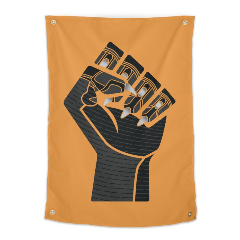 Panther Fist Home Tapestry by Evan Ayres Design