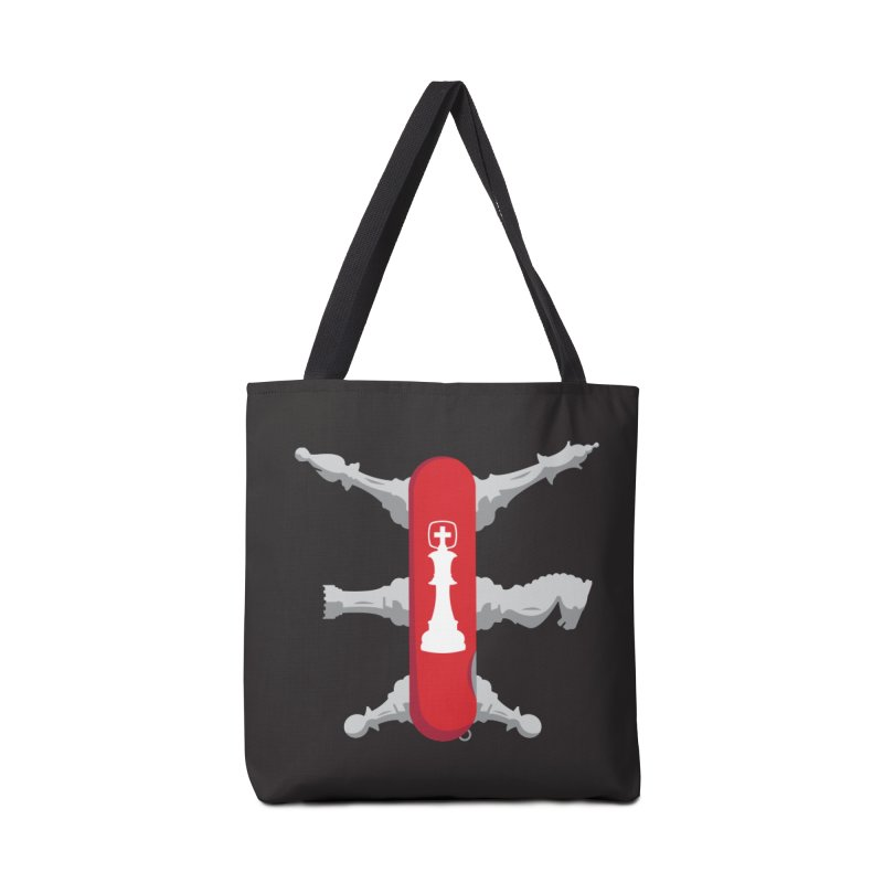 First, and Second Line Of Defense Accessories Bag by Evan Ayres
