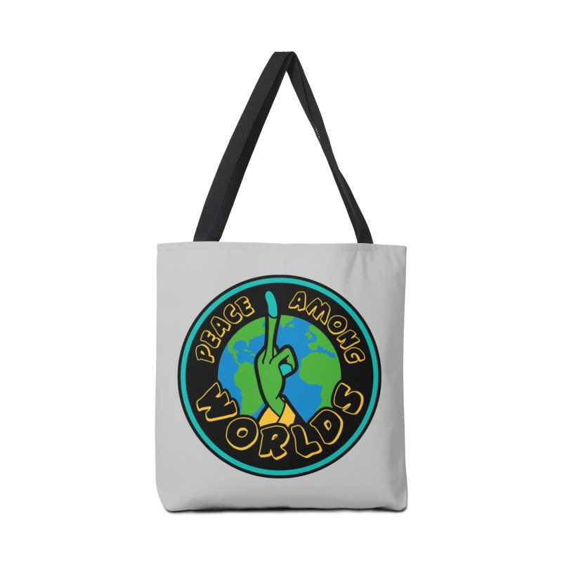 Peace Among Worlds Accessories Tote Bag Bag by Evan Ayres Design