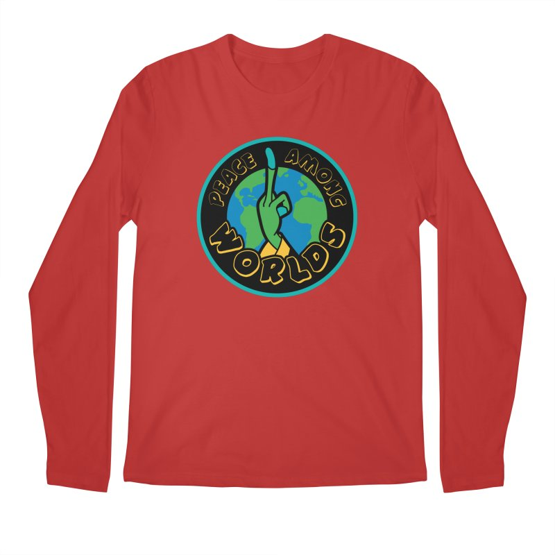 Peace Among Worlds Men's Longsleeve T-Shirt by Evan Ayres