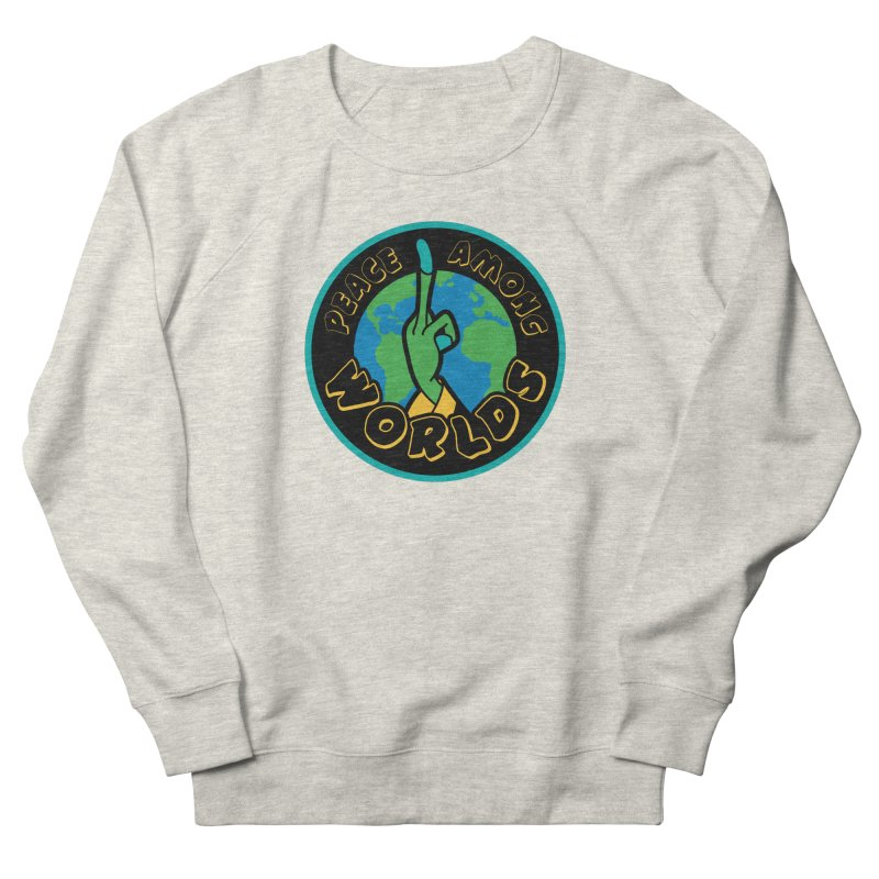 Peace Among Worlds Women's French Terry Sweatshirt by Evan Ayres