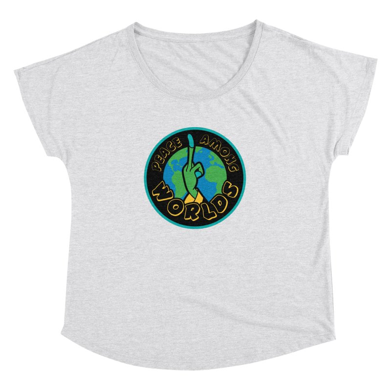 Peace Among Worlds Women's Dolman by Evan Ayres