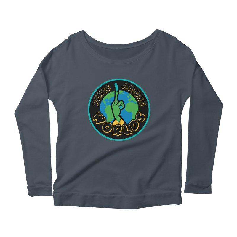 Peace Among Worlds Women's Scoop Neck Longsleeve T-Shirt by Evan Ayres