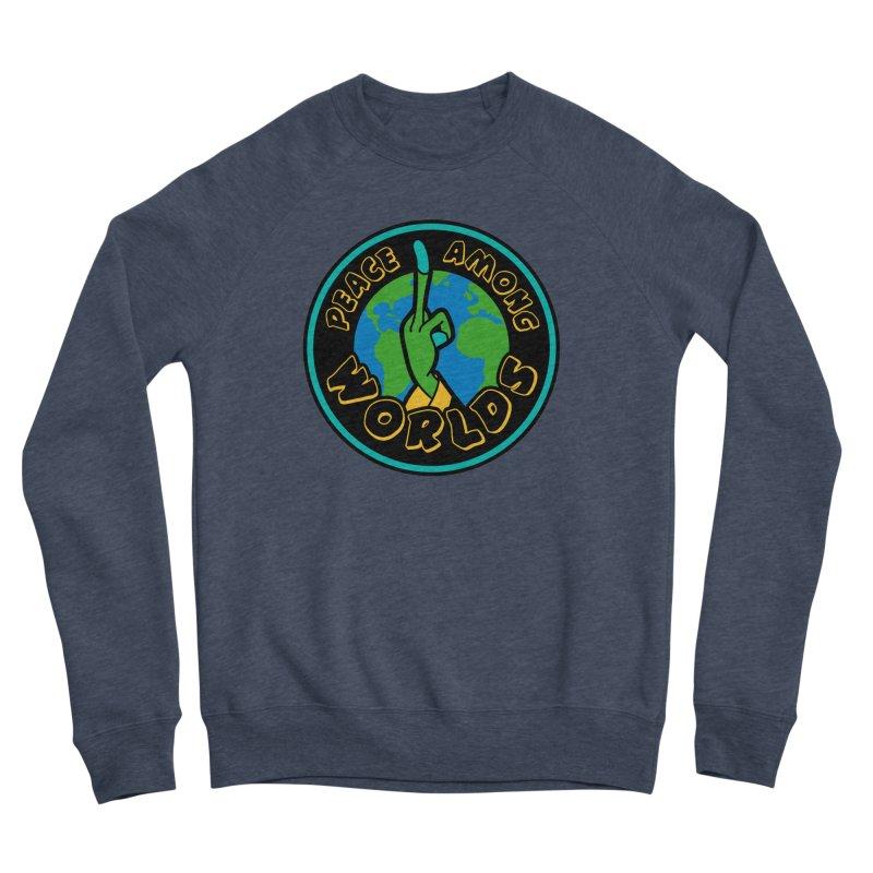 Peace Among Worlds Men's Sponge Fleece Sweatshirt by Evan Ayres Design