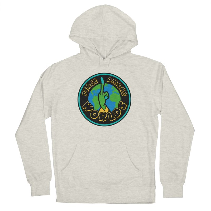 Peace Among Worlds Women's French Terry Pullover Hoody by Evan Ayres Design