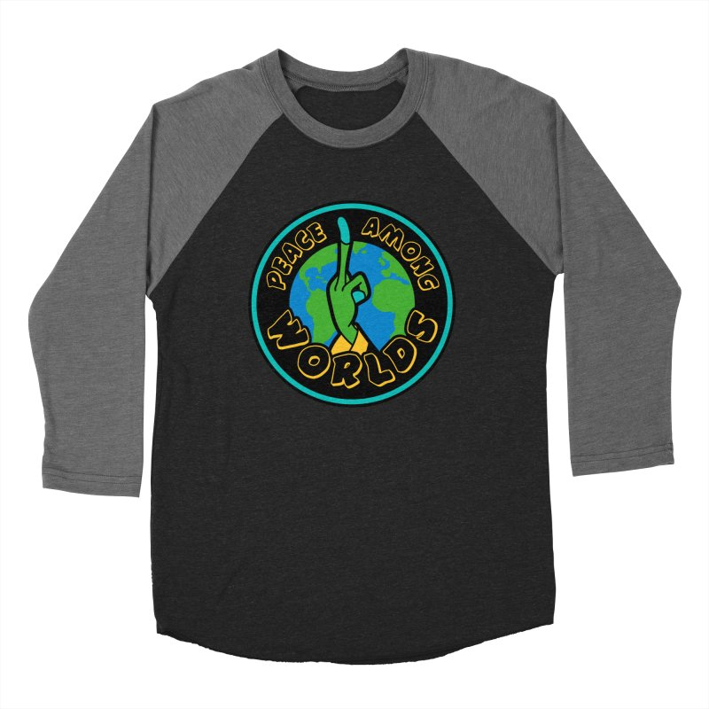 Peace Among Worlds Women's Baseball Triblend Longsleeve T-Shirt by Evan Ayres Design