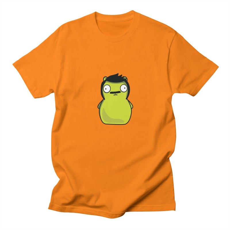 Kuchi Kopi Bob in Men's Regular T-Shirt Orange by Evan Ayres Design