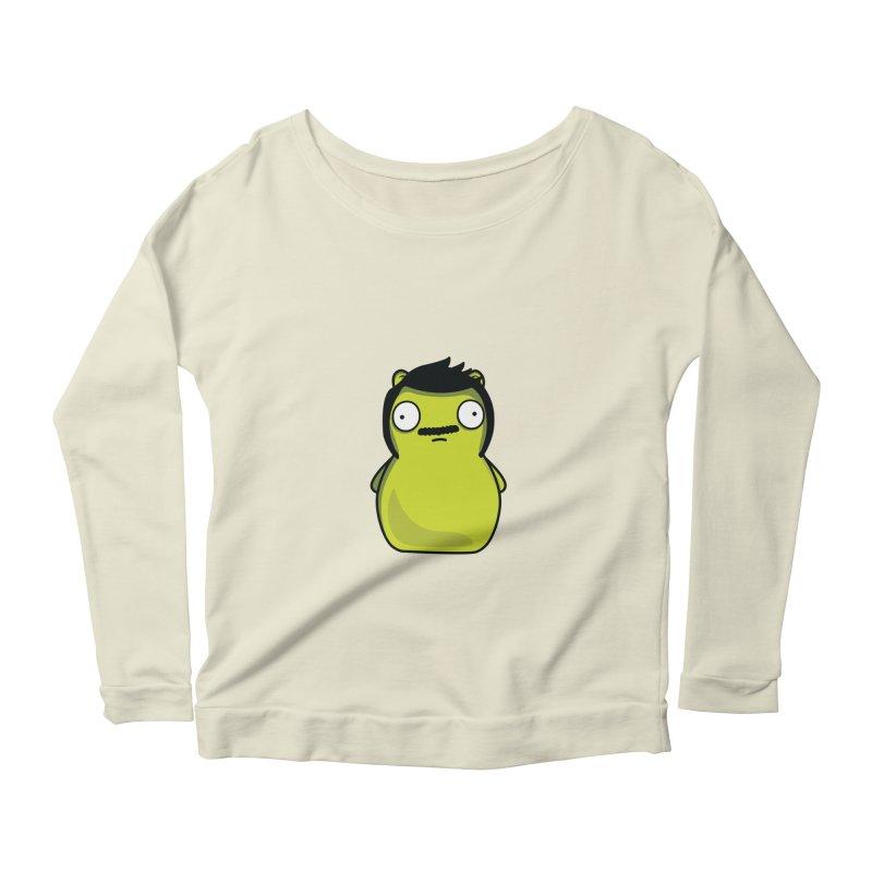 Kuchi Kopi Bob Women's Scoop Neck Longsleeve T-Shirt by Evan Ayres
