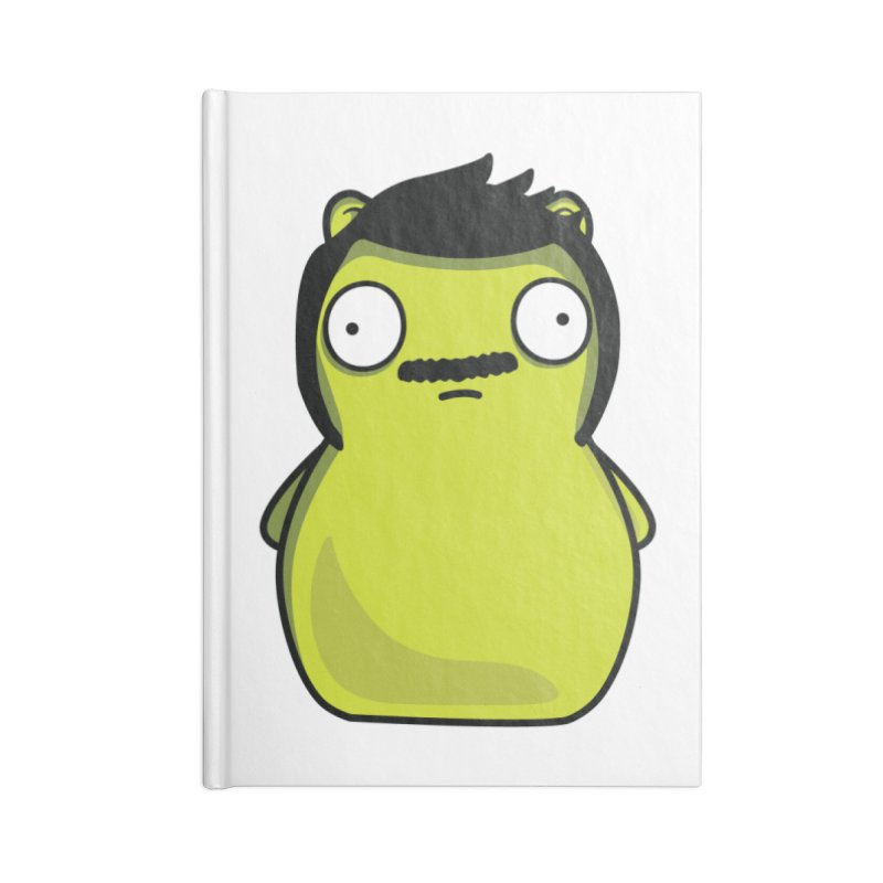 Kuchi Kopi Bob Accessories Blank Journal Notebook by Evan Ayres Design