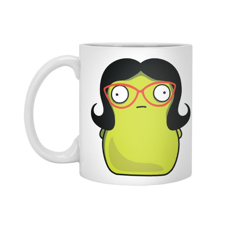 Kuchi Kopi Linda Accessories Standard Mug by Evan Ayres Design