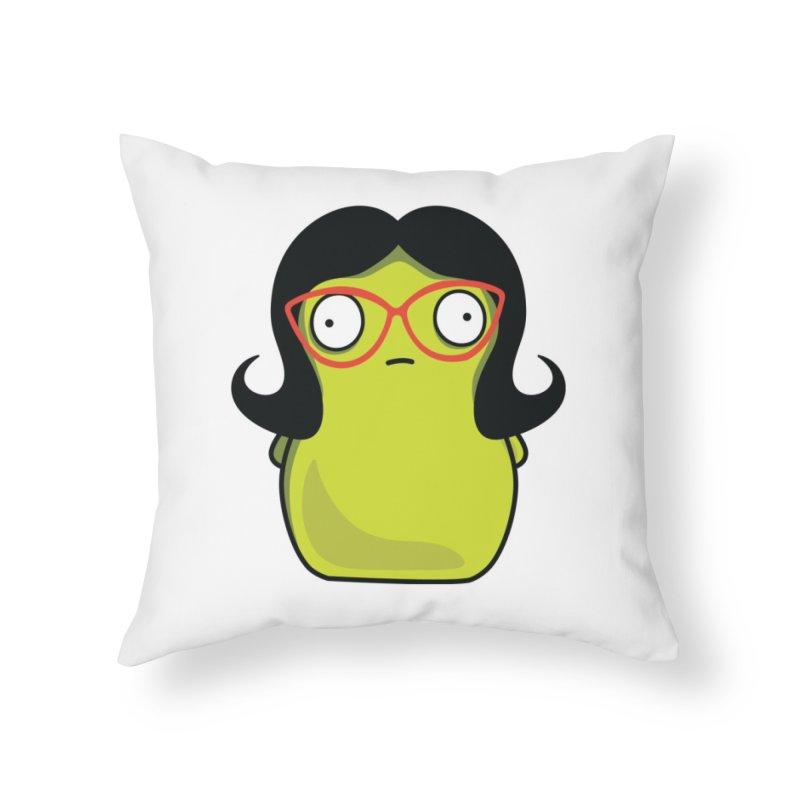 Kuchi Kopi Linda Home Throw Pillow by Evan Ayres Design