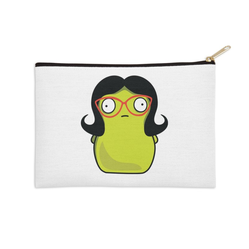 Kuchi Kopi Linda Accessories Zip Pouch by Evan Ayres Design