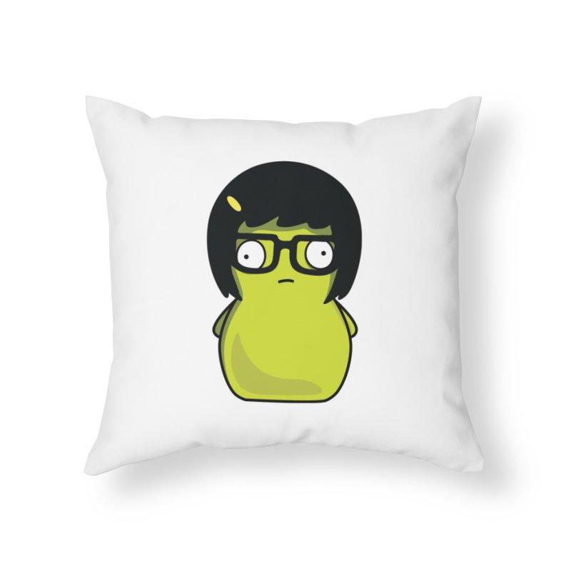 Kuchi Kopi Tina Home Throw Pillow by Evan Ayres Design