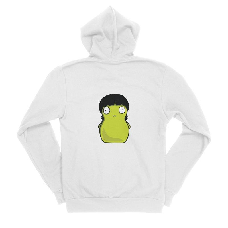 Kuchi Kopi Gene Men's Sponge Fleece Zip-Up Hoody by Evan Ayres Design