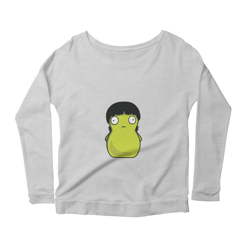 Kuchi Kopi Gene Women's Scoop Neck Longsleeve T-Shirt by Evan Ayres Design