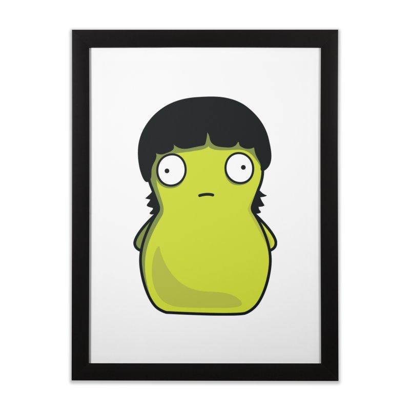 Kuchi Kopi Gene Home Framed Fine Art Print by Evan Ayres Design