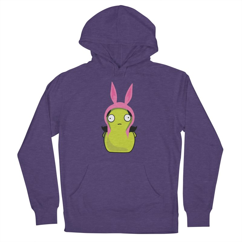 Kuchi Kopi Louise Women's French Terry Pullover Hoody by Evan Ayres Design