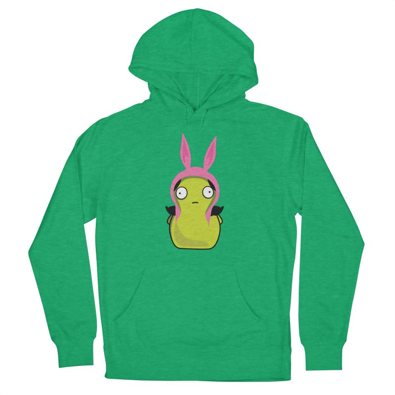 Kuchi Kopi Louise Men's French Terry Pullover Hoody by Evan Ayres