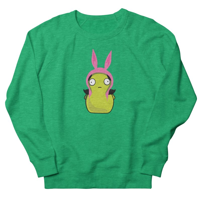 Kuchi Kopi Louise Men's French Terry Sweatshirt by Evan Ayres