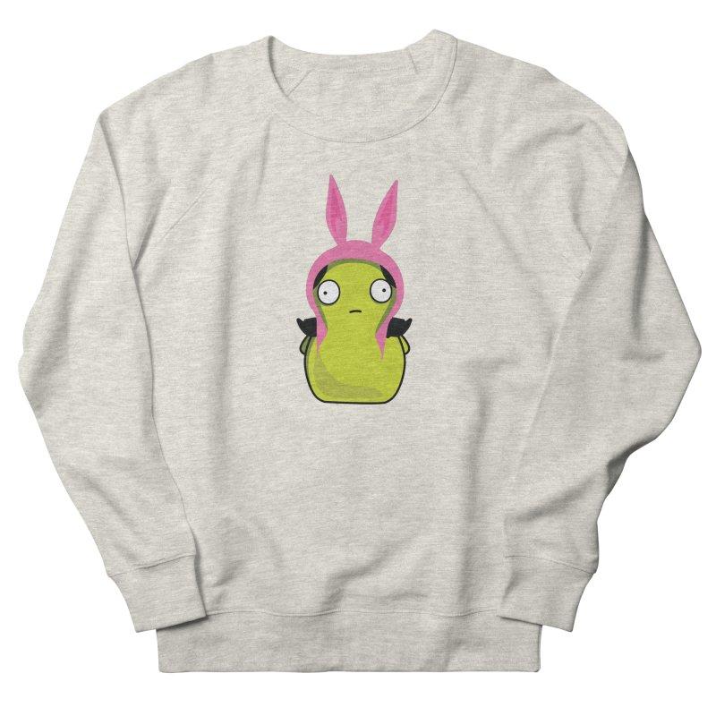 Kuchi Kopi Louise Men's French Terry Sweatshirt by Evan Ayres Design