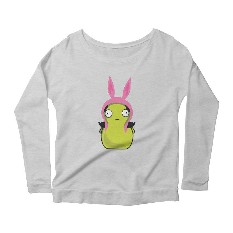 Kuchi Kopi Louise Women's Scoop Neck Longsleeve T-Shirt by Evan Ayres Design