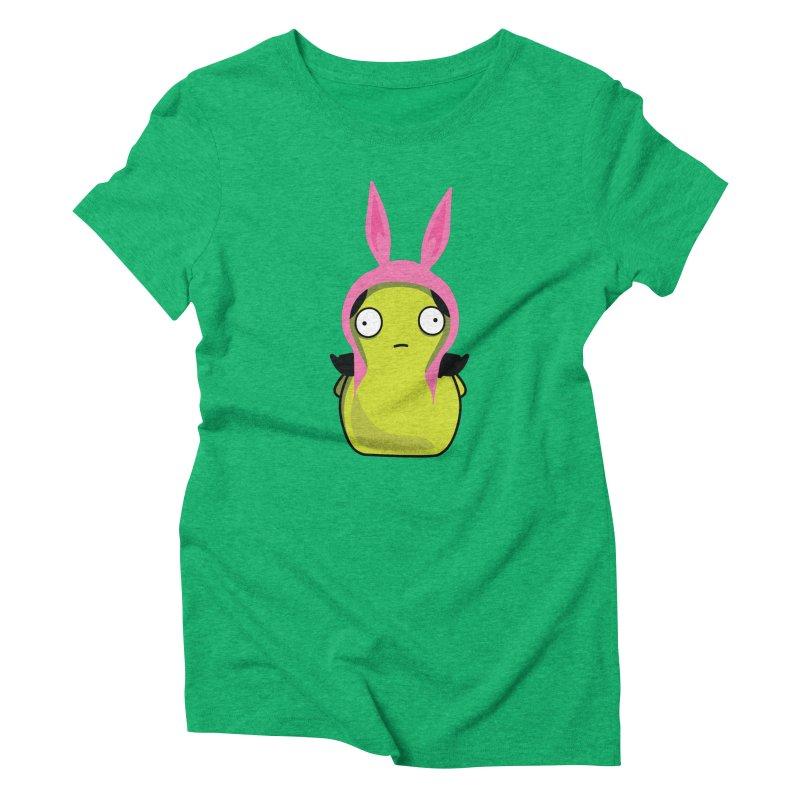 Kuchi Kopi Louise Women's Triblend T-Shirt by Evan Ayres Design