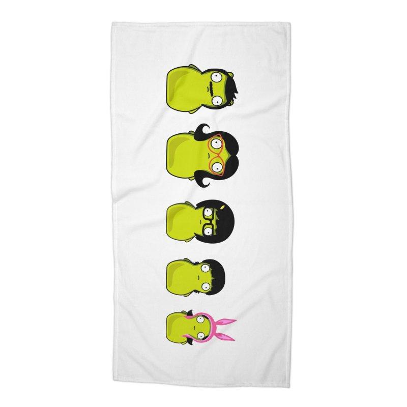 Kuchi Kopi Belcher Family Accessories Beach Towel by Evan Ayres Design