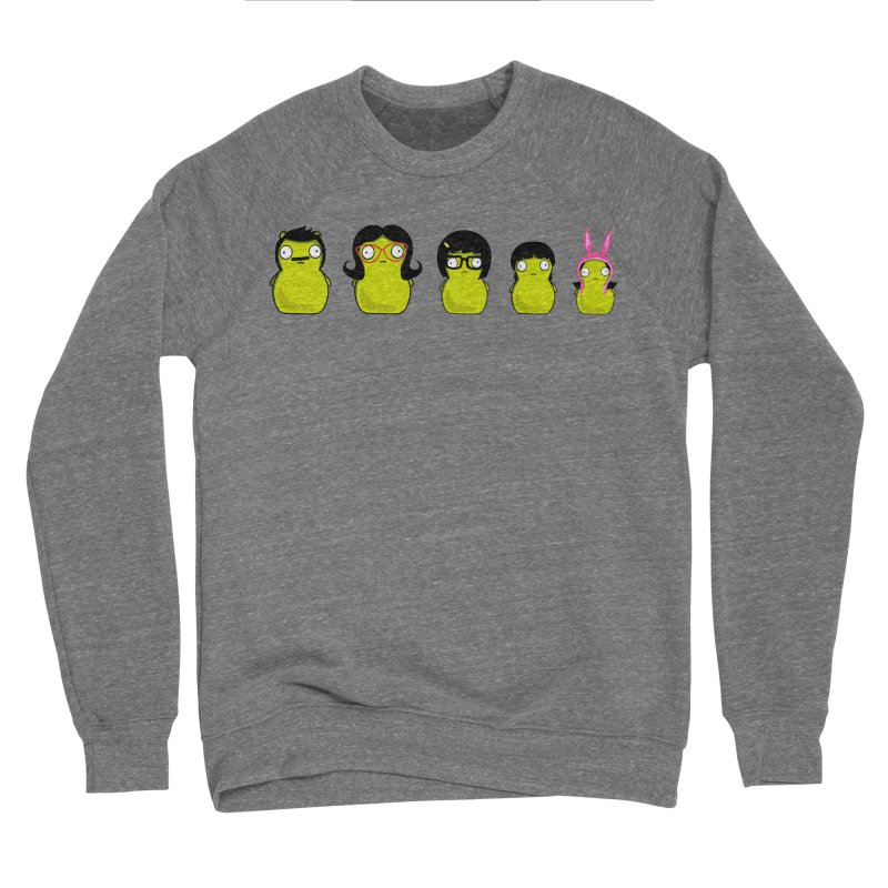 Kuchi Kopi Belcher Family Men's Sponge Fleece Sweatshirt by Evan Ayres Design