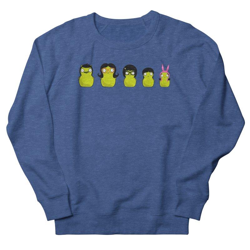 Kuchi Kopi Belcher Family Men's French Terry Sweatshirt by Evan Ayres Design