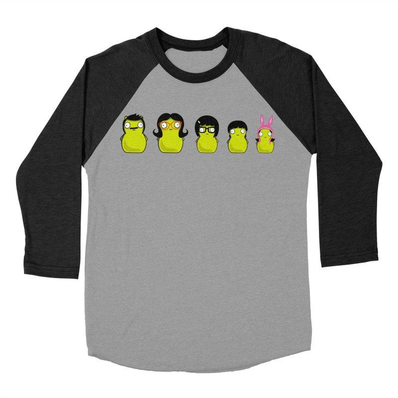 Kuchi Kopi Belcher Family Women's Baseball Triblend Longsleeve T-Shirt by Evan Ayres Design