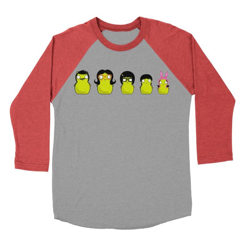 Kuchi Kopi Belcher Family Men's Baseball Triblend Longsleeve T-Shirt by Evan Ayres Design