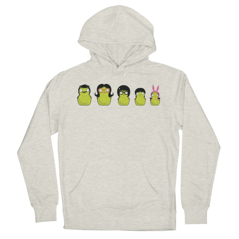 Kuchi Kopi Belcher Family Women's French Terry Pullover Hoody by Evan Ayres Design