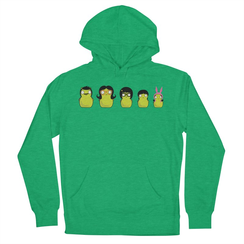 Kuchi Kopi Belcher Family Men's French Terry Pullover Hoody by Evan Ayres