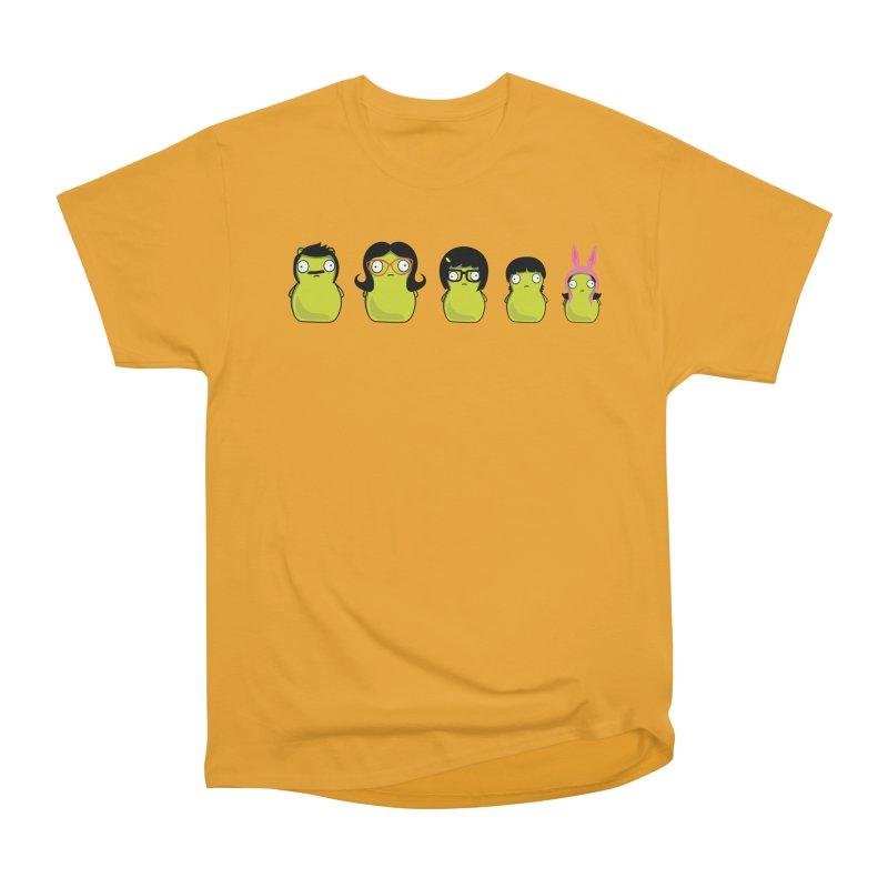 Kuchi Kopi Belcher Family Women's Heavyweight Unisex T-Shirt by Evan Ayres