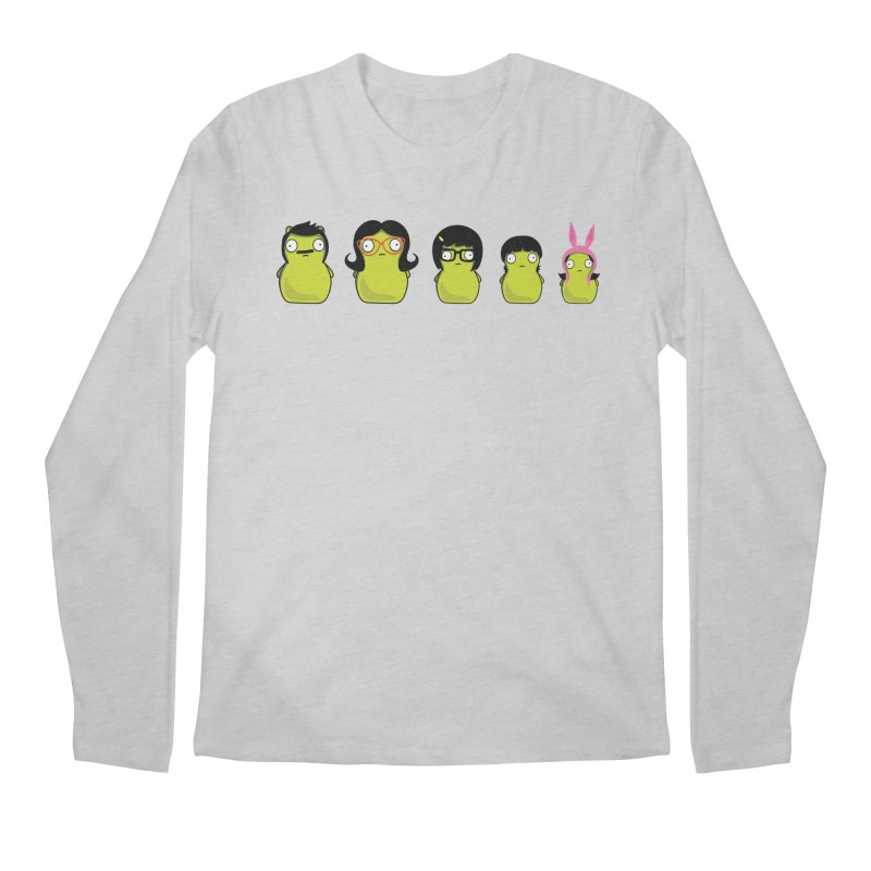 Kuchi Kopi Belcher Family Men's Regular Longsleeve T-Shirt by Evan Ayres Design