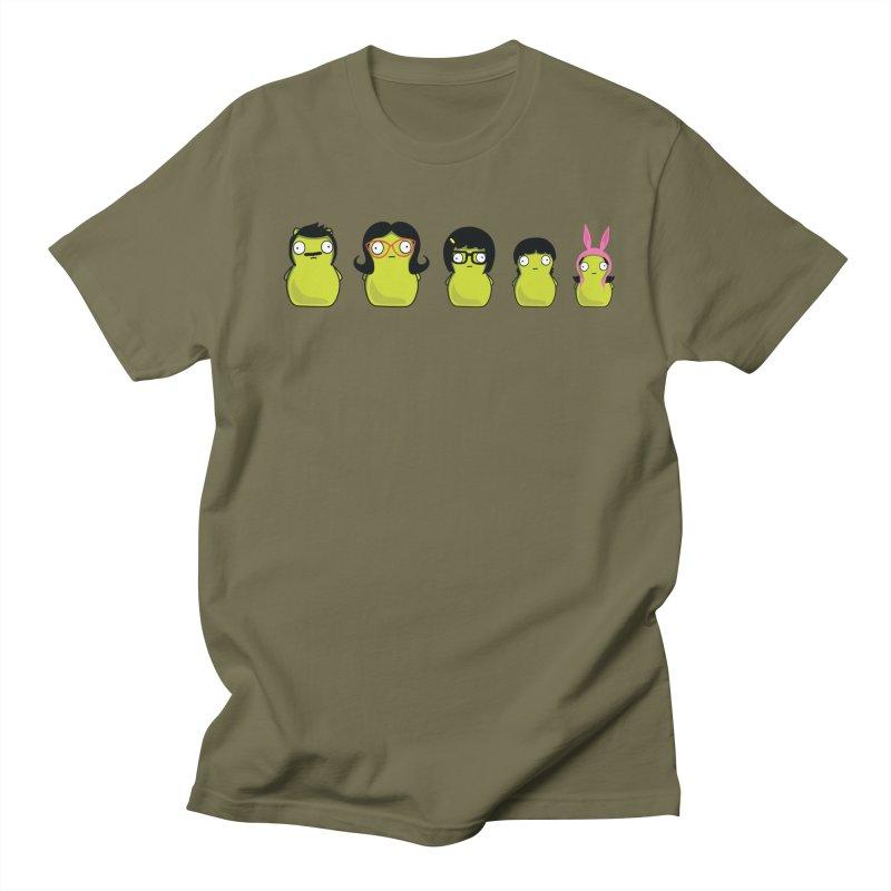 Kuchi Kopi Belcher Family Women's Regular Unisex T-Shirt by Evan Ayres Design