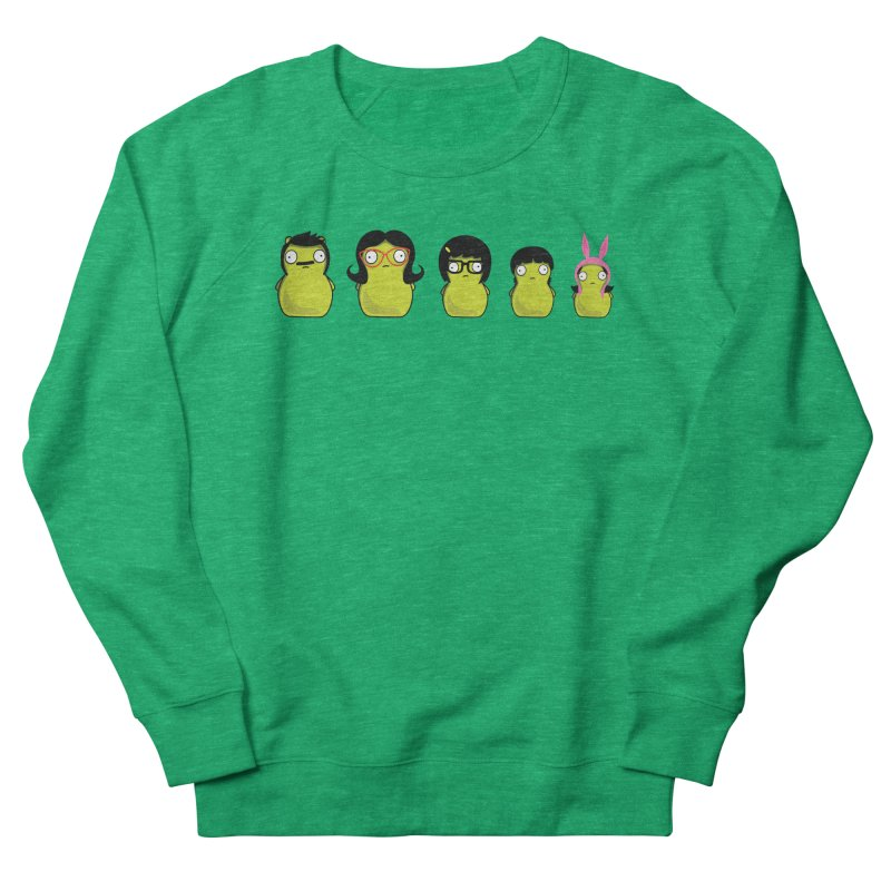Kuchi Kopi Belcher Family Men's French Terry Sweatshirt by Evan Ayres