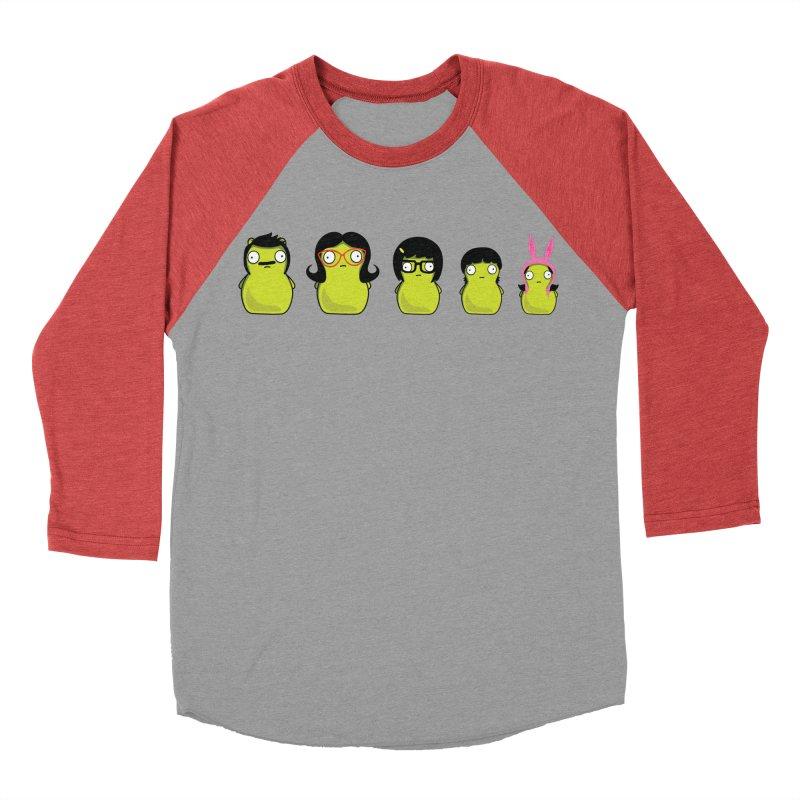 Kuchi Kopi Belcher Family Women's Baseball Triblend Longsleeve T-Shirt by Evan Ayres
