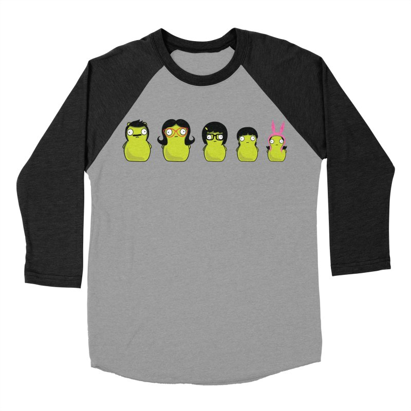 Kuchi Kopi Belcher Family Men's Baseball Triblend T-Shirt by Evan Ayres