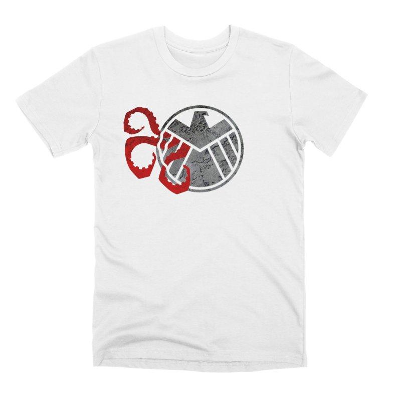 Lurking In The Shadows Men's Premium T-Shirt by Evan Ayres Design