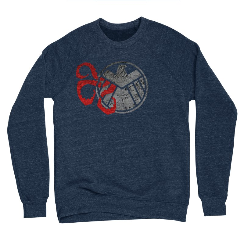 Lurking In The Shadows Men's Sponge Fleece Sweatshirt by Evan Ayres Design