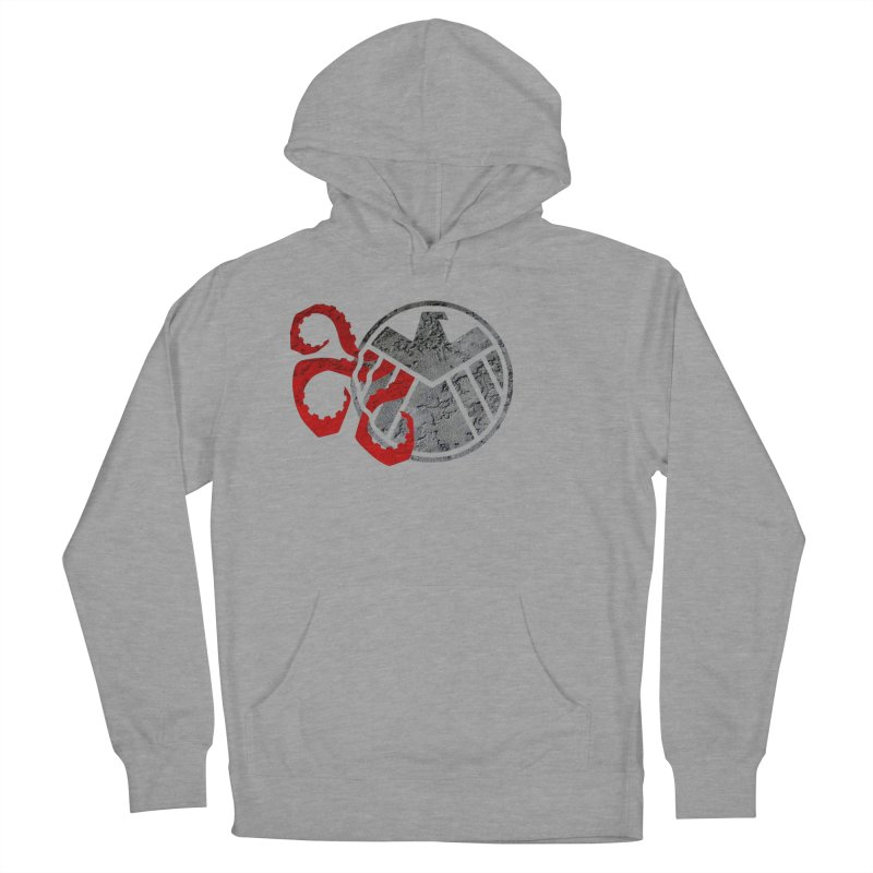 Lurking In The Shadows Men's French Terry Pullover Hoody by Evan Ayres Design