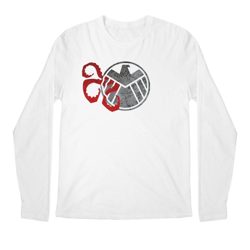 Lurking In The Shadows Men's Regular Longsleeve T-Shirt by Evan Ayres Design