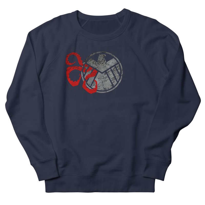 Lurking In The Shadows Men's French Terry Sweatshirt by Evan Ayres Design