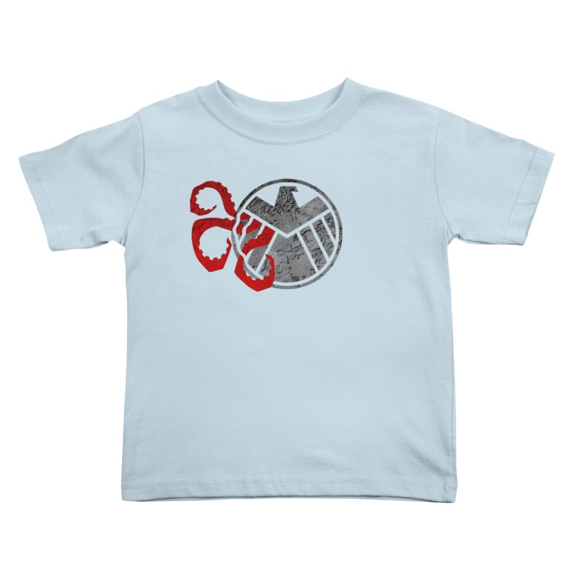 Lurking In The Shadows Kids Toddler T-Shirt by Evan Ayres Design