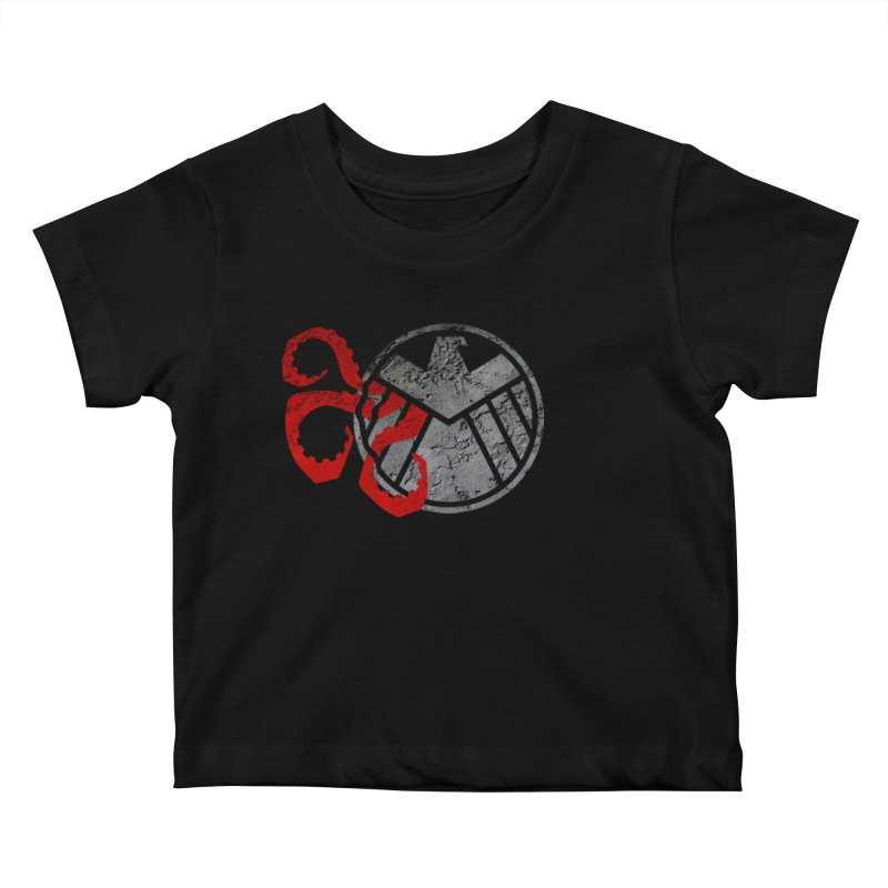 Lurking In The Shadows Kids Baby T-Shirt by Evan Ayres Design