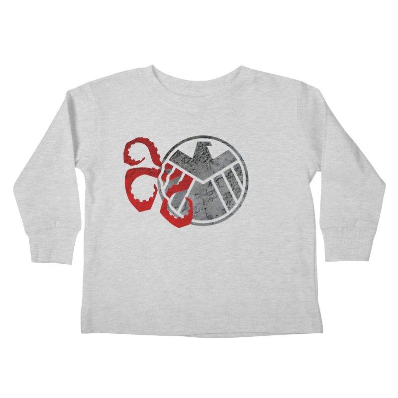 Lurking In The Shadows Kids Toddler Longsleeve T-Shirt by Evan Ayres Design