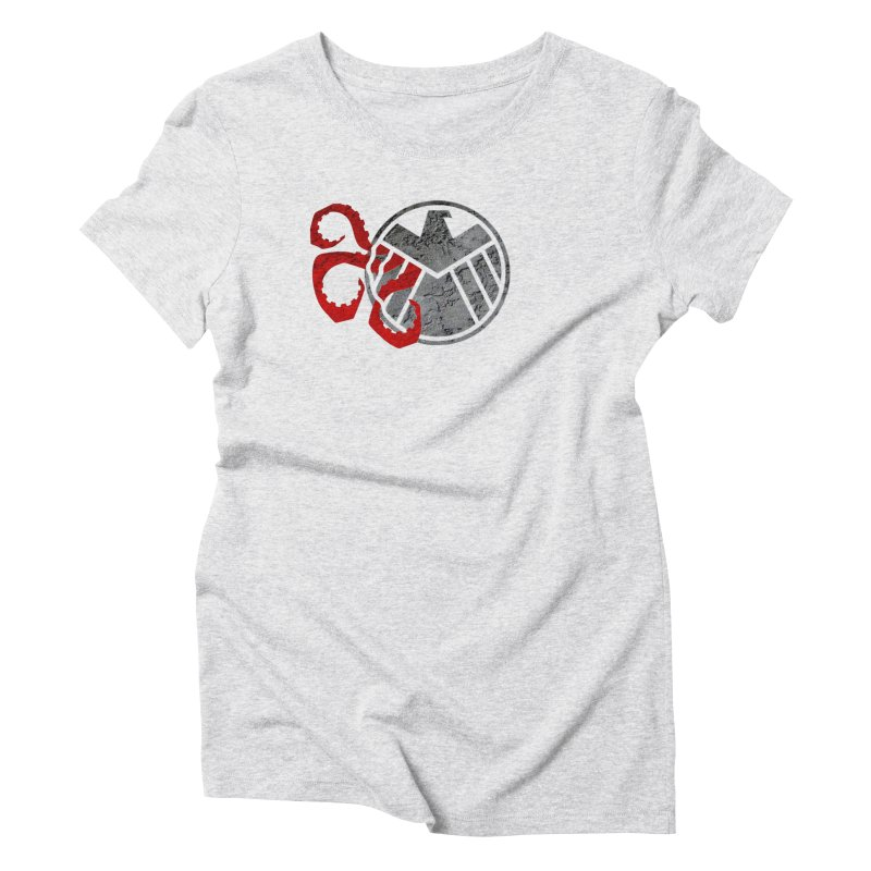 Lurking In The Shadows Women's Triblend T-Shirt by Evan Ayres Design