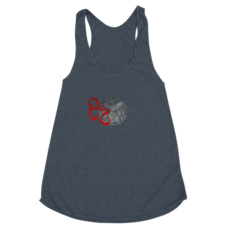 Lurking In The Shadows Women's Racerback Triblend Tank by Evan Ayres Design